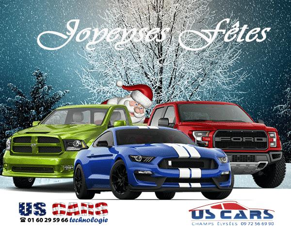 Joyeux Noel Et Bonnes Fetes De Fin D Annee Us Cars Technologie